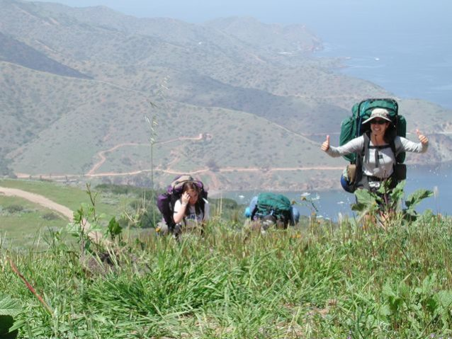 丘から丘へと重いバックパックを担ぐのと20の幾何学証明の問題を解決するのとどっちが簡単だろう。Photo: Jesse Wooten