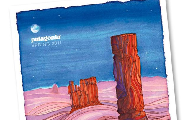 『Spring 2011』カタログ。本カタログをご希望の方は、 パタゴニアウェブサイトよりご請求ください