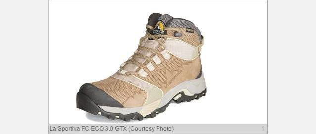 ハイキング・ブーツ:残すのはかすかな足跡だけ