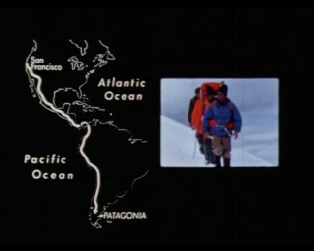1968年、パタゴニアの創始者のイヴォン・シュイナードは友人のダグ・トンプキンスとディック・ドーワースとともに、あまり登られていなかったパタゴニアのセロ・フィッツロイの登攀に挑戦することにしました。けれどもそのためにはまず、カリフォルニアからおんぼろのバンで南アルゼンチンまで行かなければなりませんでした。私たちの会社名のインスピレーションともなったこの雄大な旅は、映画『Mountain of Storms』に収録されています。Image: Lito Tejada-Flores
