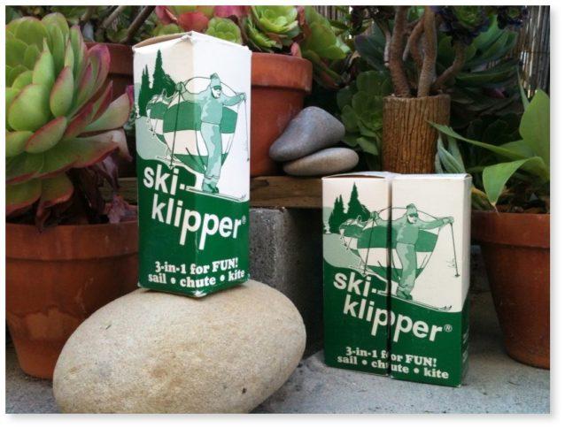 ビリーと弟が祖父の屋根裏で見つけたオリジナルのスキー・クリッパー。写真:ビリー・スミス、スポーティング・セール提供