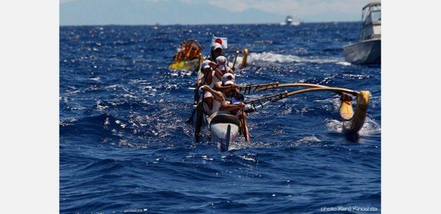 ハワイアンのチームと30キロにおよぶデットヒート。