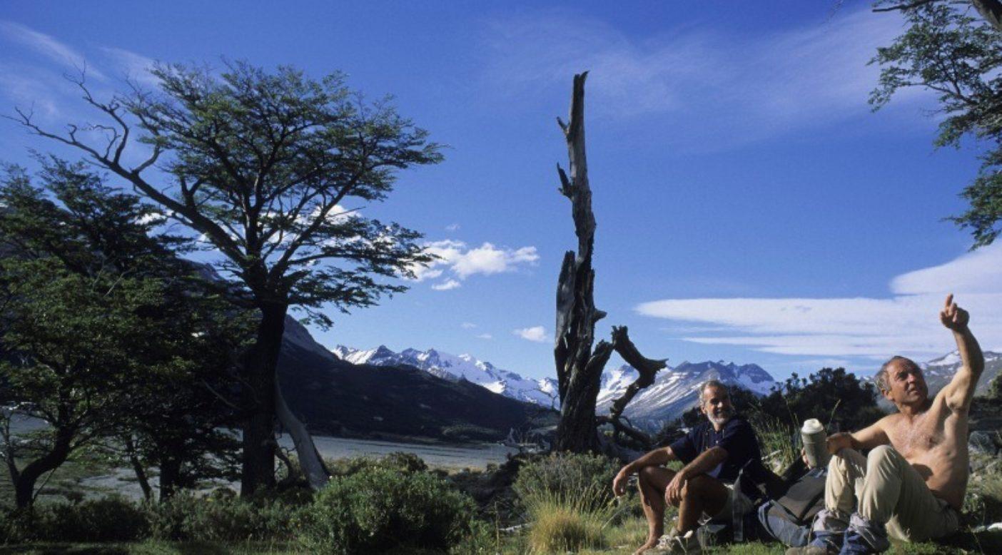 パタゴニアのダグ・トンプキンスとイヴォン・シュイナード。コンセルバシオン・パタゴニカのアーカイブより。Photo: Rick Ridgeway