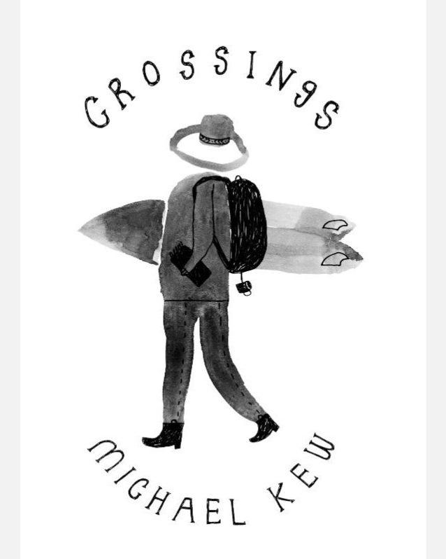 トレバーは本書『クロッシング』の表紙画も手がけた。表紙画:トレバー・ゴードン