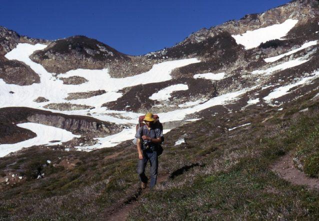 カスケード山脈北部を進む。Photo: Old School