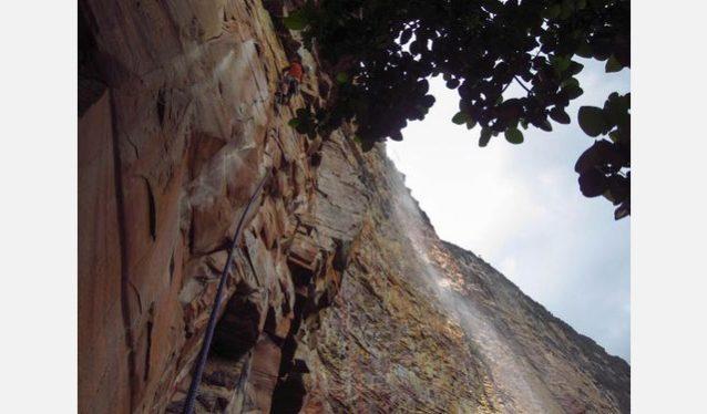 マリア・ロサの第1ピッチでジャングルから抜け出るショーン・ヴィラヌエヴァ。Photo:Xpedition.be