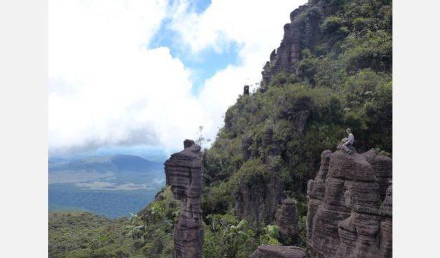 アムリ・テプイ山頂の様子。Photo:Xpedition.be