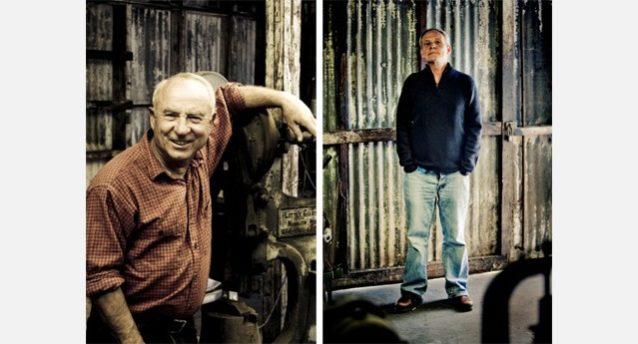 イヴォン・シュイナードとヴィンセント・スタンリー。Photo: Tim Davis