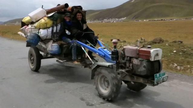 交通手段としてはなかなかかも(笑)写真:アダム・コルトン