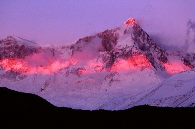 ペリト・モレノ国立公園のセロ・サン・ロレンゾのもうひとつの景色。Photo: Doug Tompkins