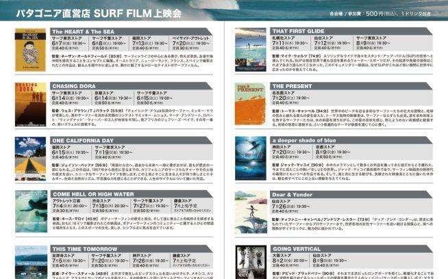 パタゴニア直営店 – サーフフィルム上映会