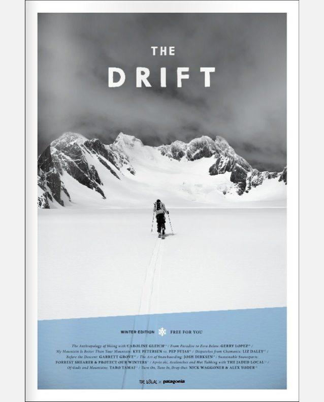 『The Drift』よりパタゴニア・スノーボード・アンバサダー、玉井太朗へのインタビュー