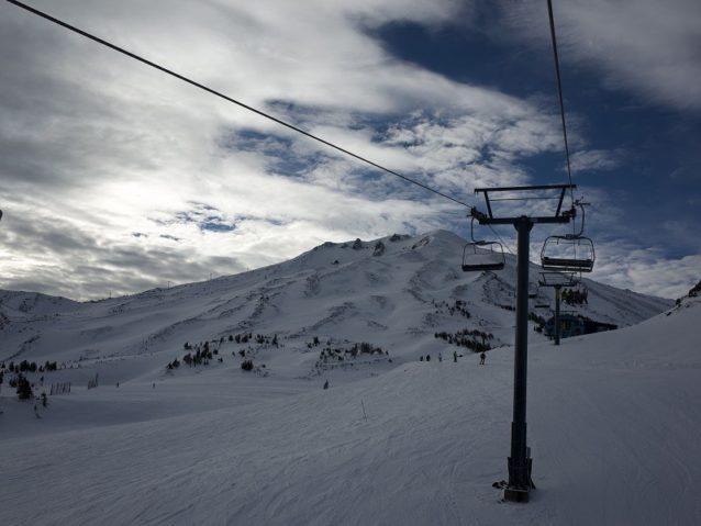 次はあそこを滑りたい Photo: Rip Zinger
