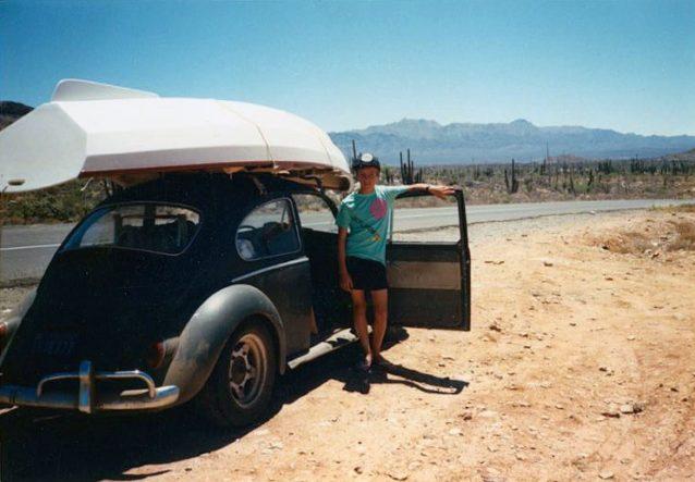 僕が13歳のときのはじめての旅。この先に多くの冒険が待っていた。Photo: Pat Curren