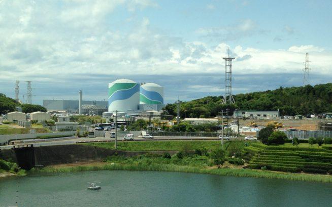 鹿児島県薩摩川内市久見崎町にある川内原子力発電所。写真:原子力市民委員会