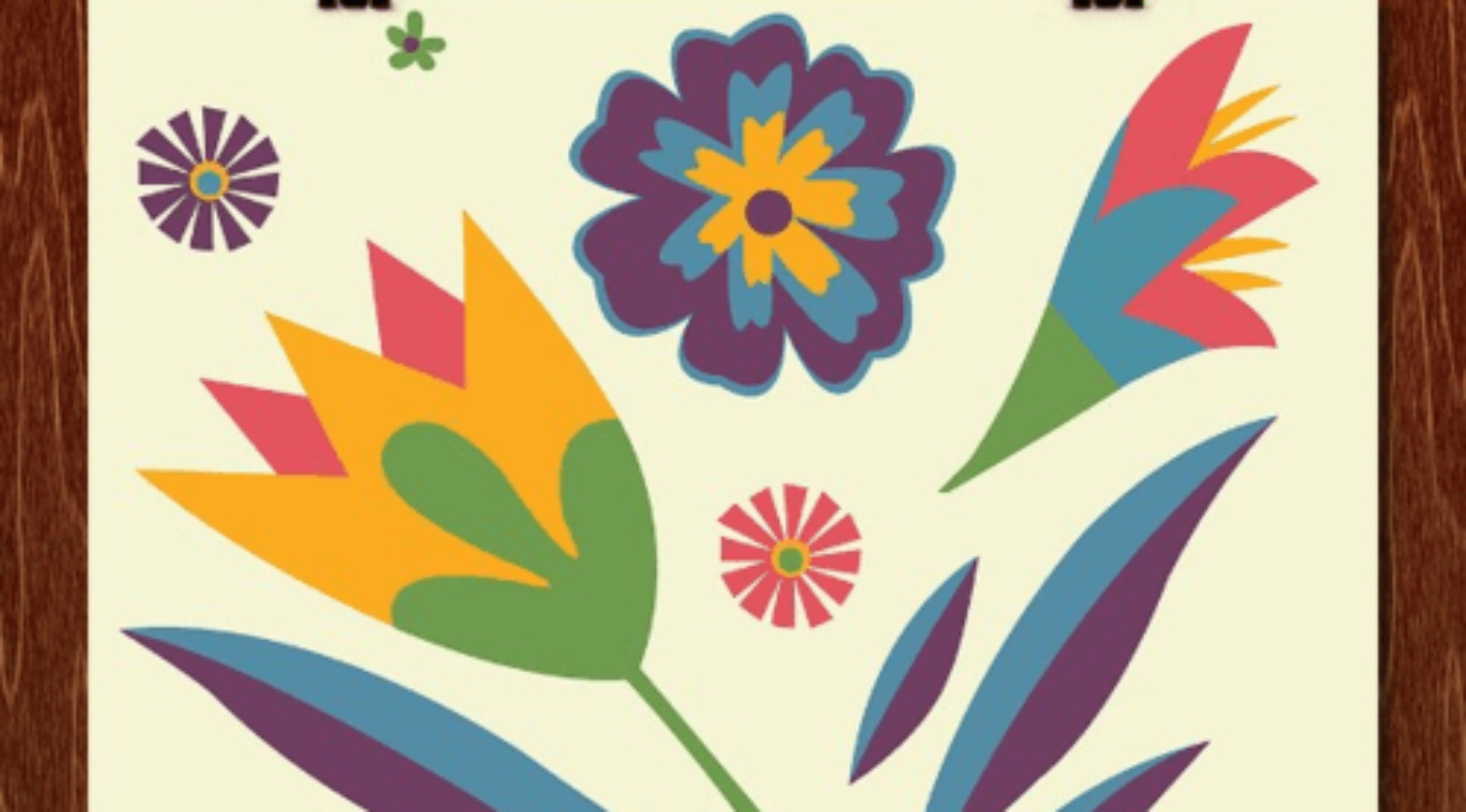 Artwork:Amy Diebolt作「Flower Power」。収益はアーティストと〈ヘッドカウント〉へ。