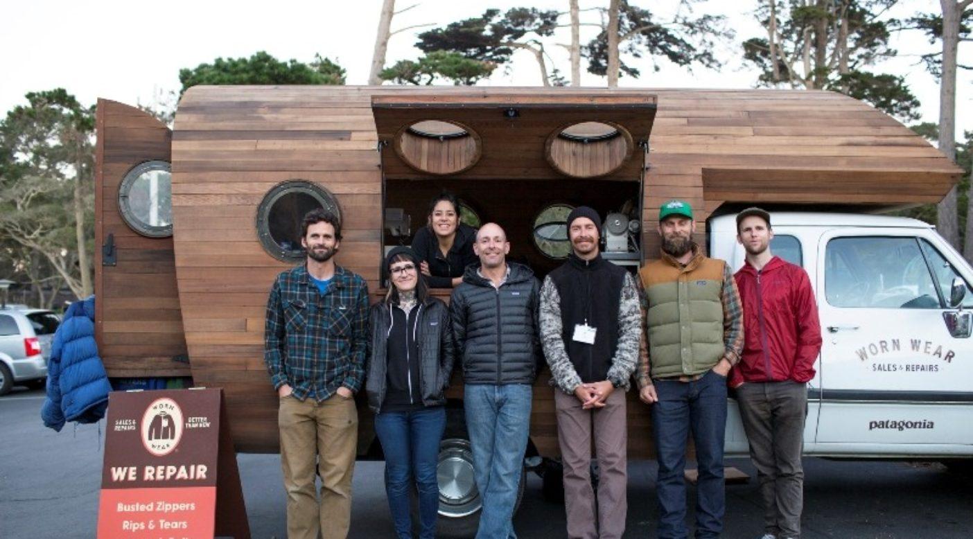 本年度初期に開催されたEcoFarmConference2015でのWorn Wearワゴンとスタッフ。Photo:Erin Feinblatt