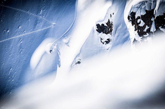 登りと下り両方のトラックを刻むアレックス・ヨーダー。Photo: Steve Ogle