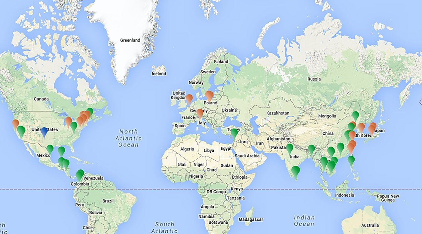 地図:フットプリント・クロニクル