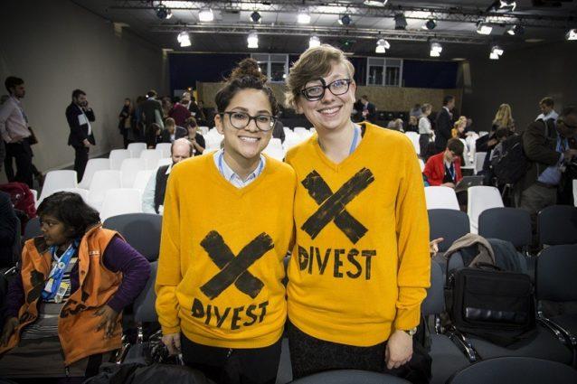 負の投資運動はおもに学生主導の大義だ。Photo:Kodiak Greenwood