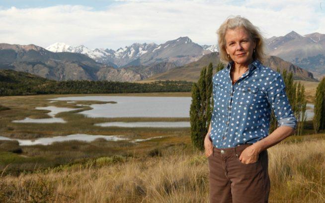 チリとアルゼンチンに保護地域を設定する仕事を継続するクリスティン・トンプキンス。Photo: Conservacion Patagonica