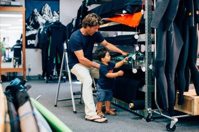 子供と一緒の時間を過ごすことが職場で波風を起こすことはない。パタゴニア本社 Photo: Kyle Sparks