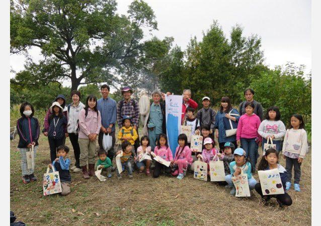 親子自然塾。親子でたっぷり楽しめるイベントも開催しています。写真:荒川の自然を守る会代表 菅間宏子