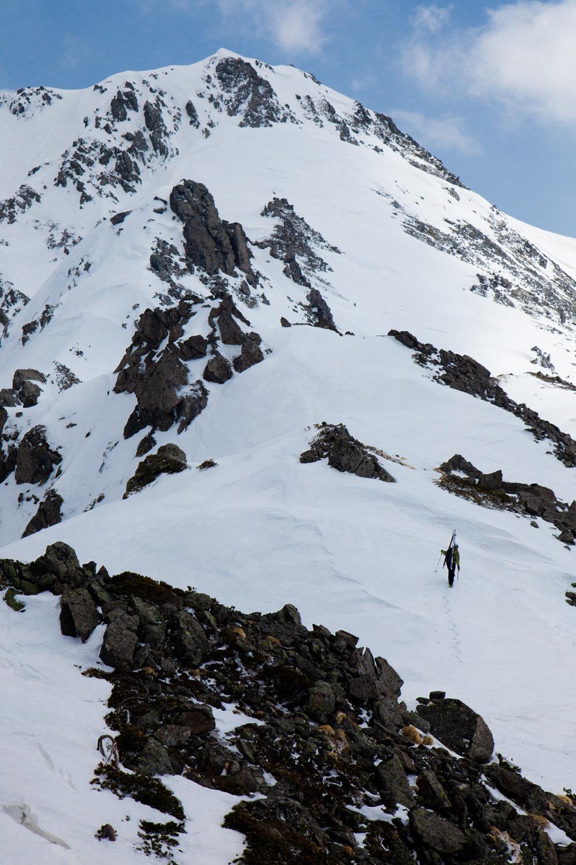 黒部横断水晶岳への登り.JPG