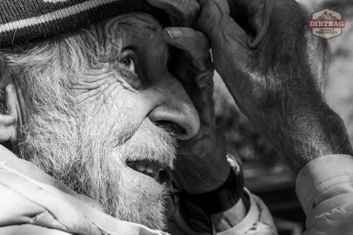 『ダートバッグ:フレッド・ベッキーの伝説』のディレクターであるデーブ・オレスキーとした2度の中国遠征のひとつでのフレッド・ベッキー。この投稿のトップにある動画も同映画からのもの。  Photo: Dave O'Leske