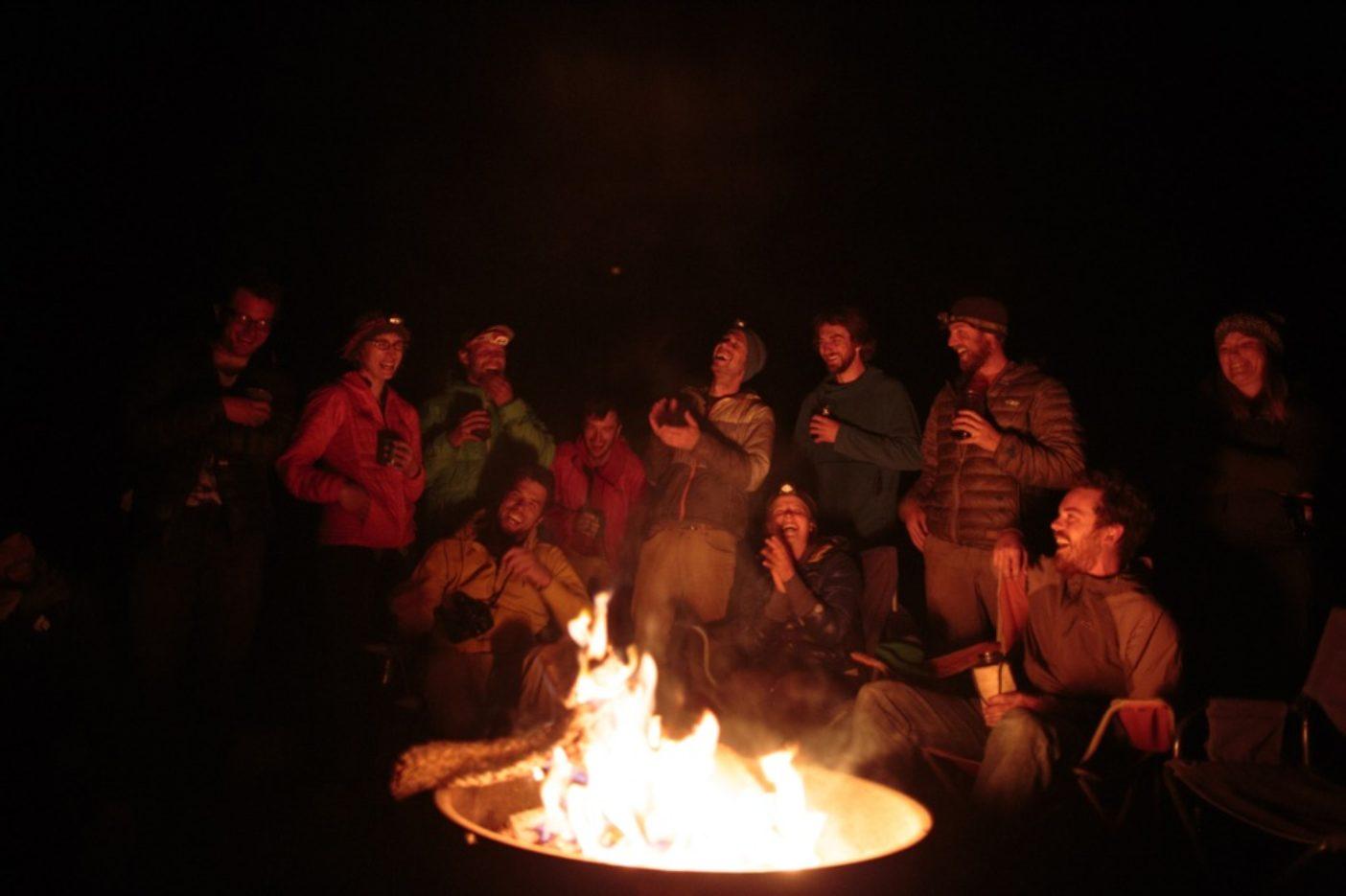 クライミングとアクティビズムの日を祝う。ユタ州のクリーク・パスチャー・キャンプ場にて。Photo: Matty Van Biene