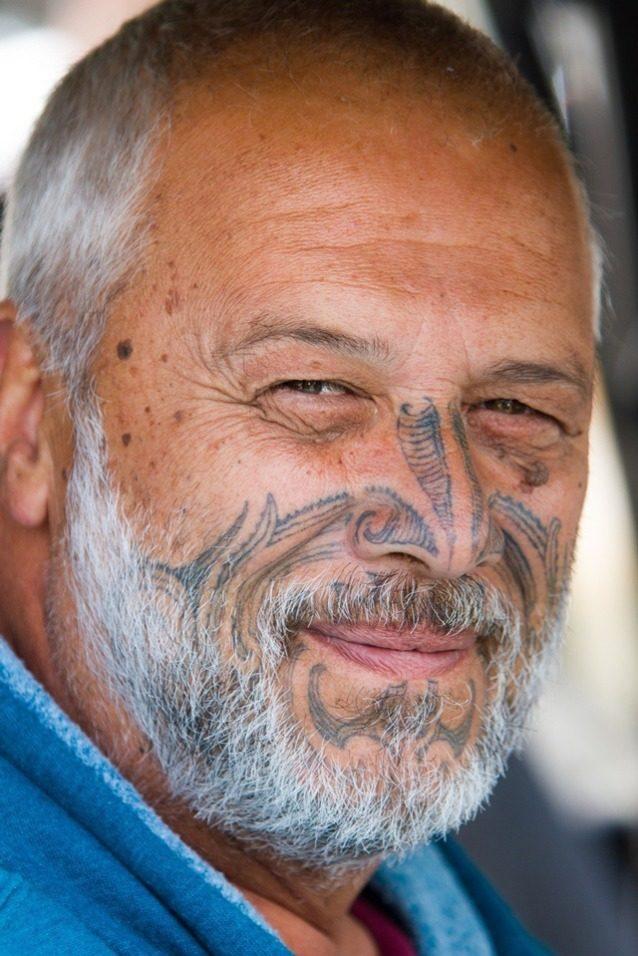 ンガプヒ族の一員、マイク・スミス。Photo: John Bilderback