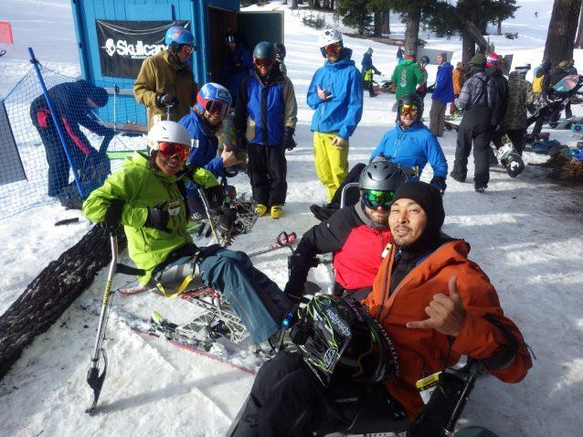 新しいチェアスキーヤーも増えていてうれしかった。日本からも誰か一緒に行かない?