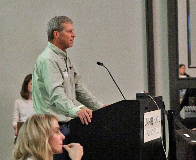 NOSB前議長および〈オーガニック栽培農家協会〉運営委員会の現議長を務めるジム・リドル氏