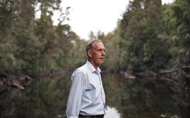 ボブ・ブラウンはオーストラリア緑の党の創始者。彼と彼の財団はタカイナ/ターカインの保護のために何十年も闘っている。Photo: Krystle Wright