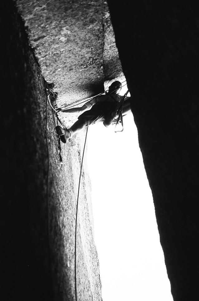 クォーター・ドームの最先端のフロスト。Photo: Yvon Chouinard / Frost Collection