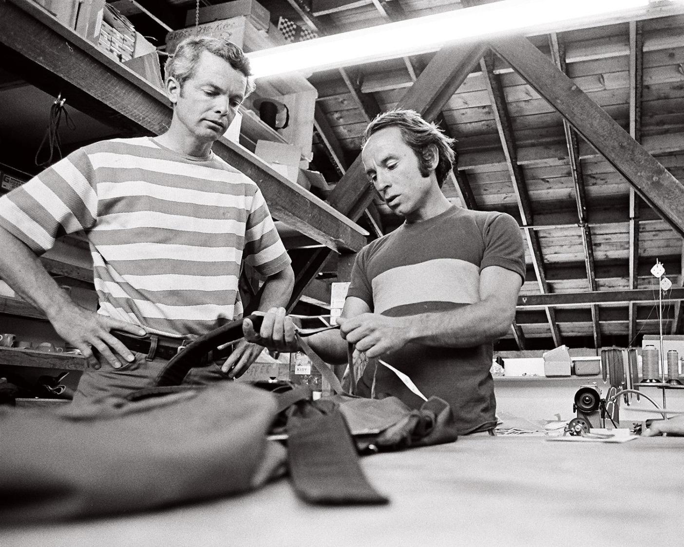 スタンフォード大学でエンジニアリングを学んだトムはイヴォン・シュイナードとともにクライミング・ギアの再考に一役買った。Photo: Gary Regester