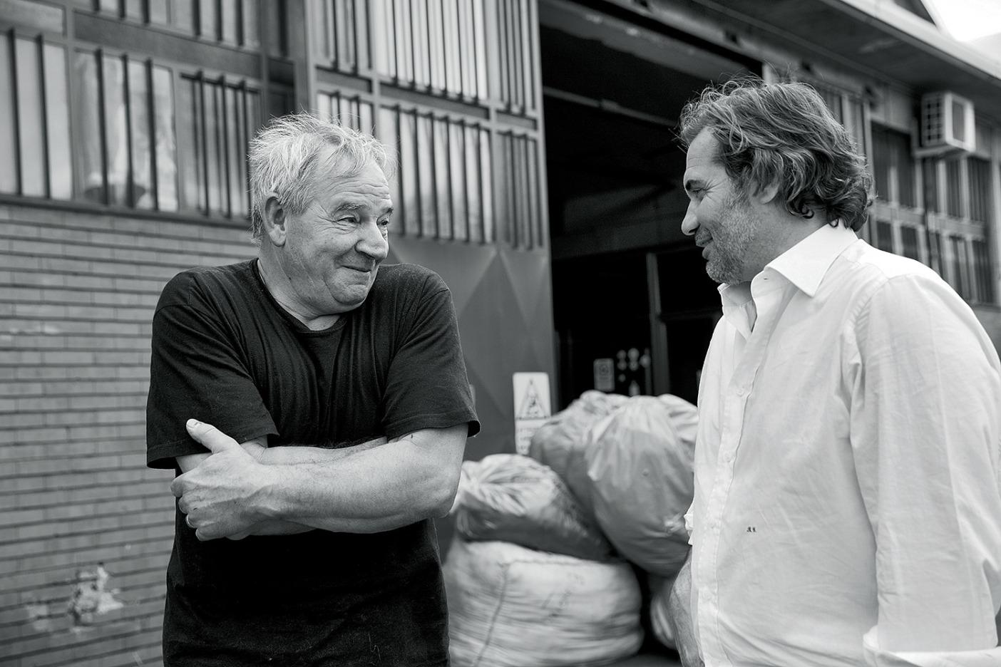 イタリア、プラトのカラマイ社は1878年以来ウールをリサイクルしてきた。Photo: Jeff Johnson