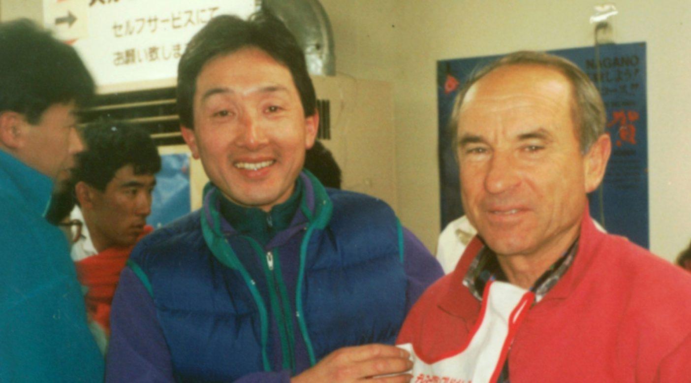 イヴォンさんと北田。