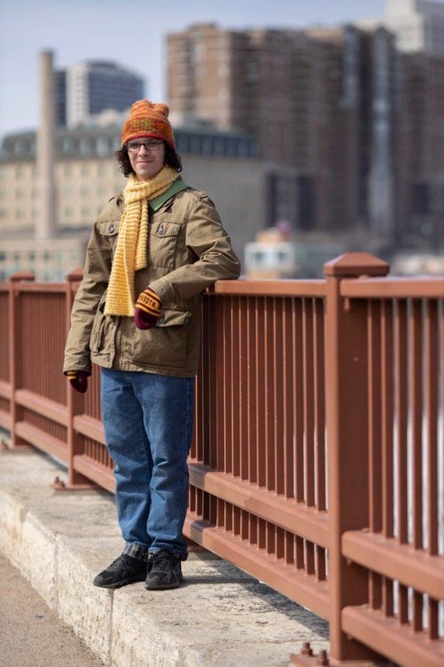 ブレント・ムルシア(24歳)は、ライン3の合法性に異議を申し立てている13名の若い訴訟参加人のひとり。ライン3とは、カナダのアルバータ州の原野から76万バレルのオイルサンドを汲みだし、アメリカ合衆国最長の川の下を通って、スペリオル湖近くのターミナルまではるばるつながるという、パイプライン建設計画である。 Photo: Nate Ptacek