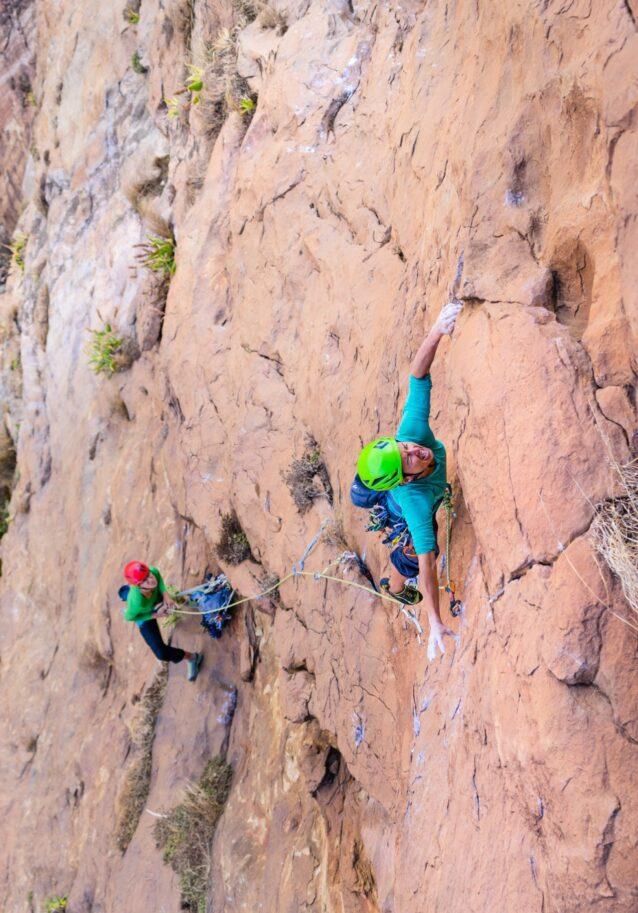 オロロクエ山の新ルート開拓 Photo:Eric Bissell