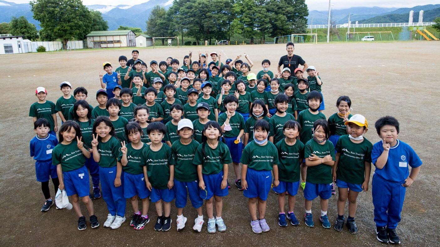 『ラントレイルクラブ』の子どもたち。それぞれ、どんな未来を描いていくのだろう。写真:藤巻 翔