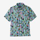 メンズ・ライトウェイト・A/Cシャツ - Spoonbills: Big Sky Blue (SPBG)
