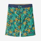 メンズ・ストレッチ・ウェーブフェアラー・ボードショーツ 21インチ, Squash Blossom: Light Beryl Green (SBLG)
